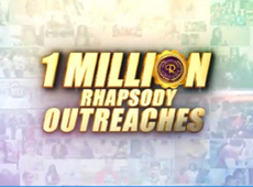 1 MILLION RHAPSODY OUTREACH