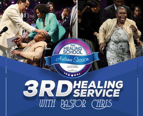THIRD HEALING SERVICE WITH PASTOR CHRIS AUTUMN SESSION JOHANNESBURG SOUTH AFRICA