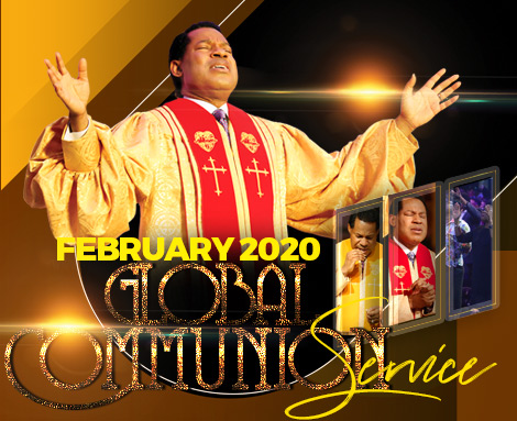 FEBRUARY 2020 GLOBAL COMMUNION SERVICE