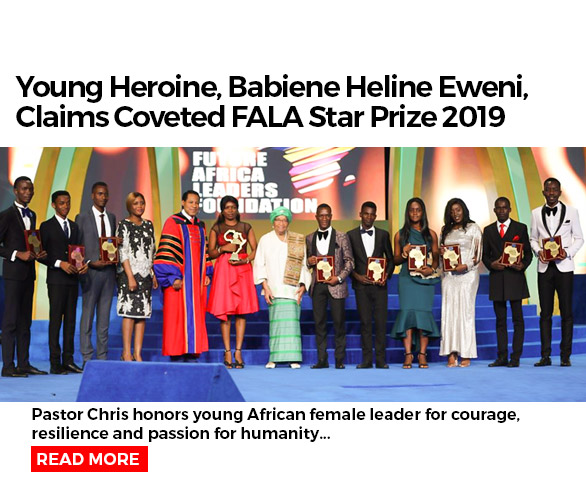 Young Heroine, Babiene Heline Eweni, Claims Coveted FALA Star Prize 2019