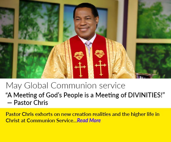 """A Meeting of God's People is a Meeting of DIVINITIES!"" — Pastor Chris"