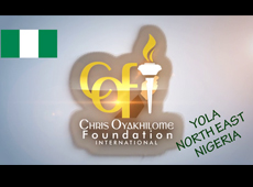 CHRIS OYAKHILOME FOUNDATION INTL IN YOLA
