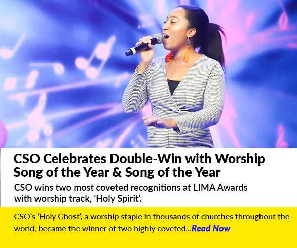 CSO Celebrates Double-Win with Worship Song of the Year & Song of the Year