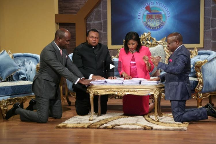 Healing School Online Prayer Conference Climaxes in an Avalanche of Miracles