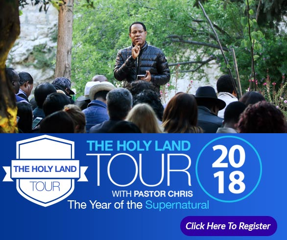 Holy Land Tour with Pastor Chris