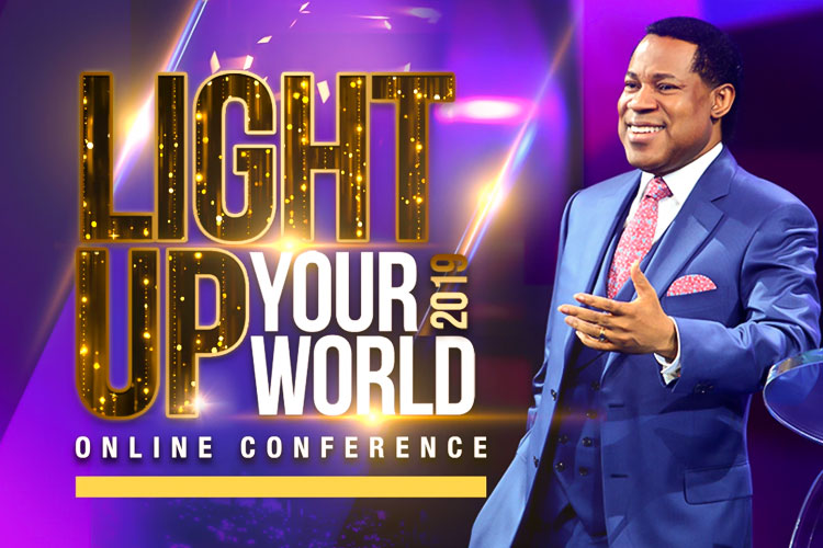 LIGHT UP YOUR WORLD 2019 ONLINE CONFERENCE WITH PASTOR CHRIS