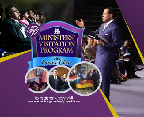 MINISTERS' VISITATION PROGRAM WITH PASTOR CHRIS