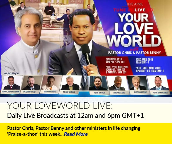 Your Loveworld with Pastor Chris and Pastor Benny