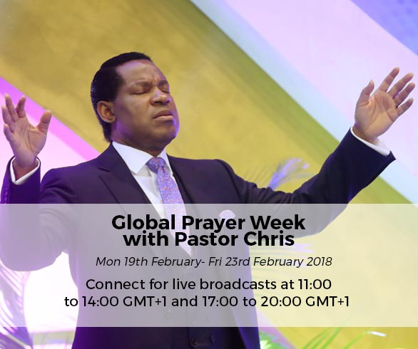 Global Prayer Week with Pastor Chris