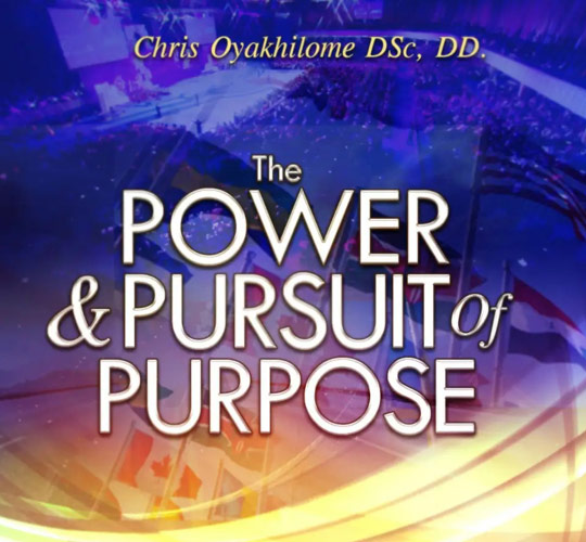 THE POWER AND PURSUIT OF PURPOSE