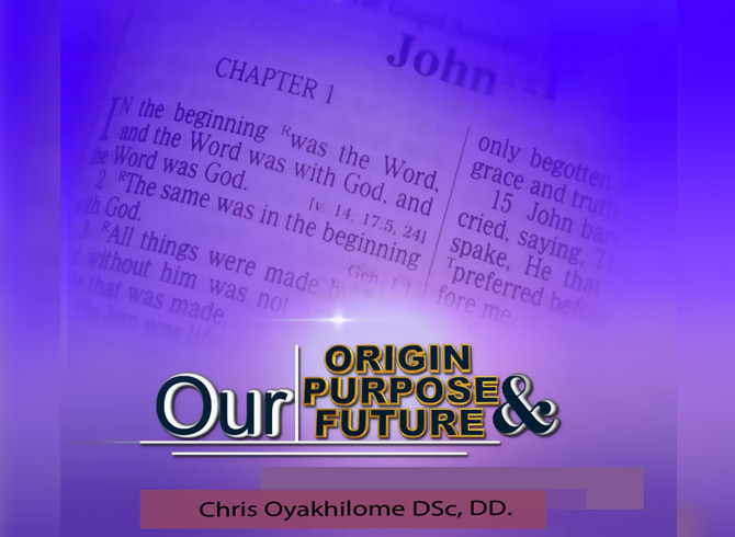 Origin, Purpose and Future (Audio)