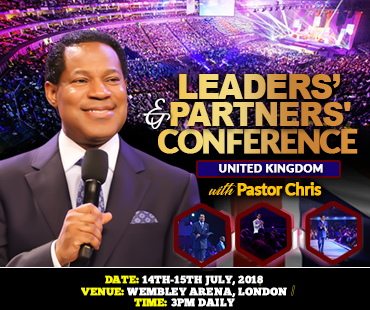 LEADERS' AND PARTNERS' CONFERENCE UNITED KINGDOM WITH PASTOR CHRIS