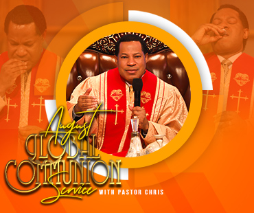 AUGUST 2021 GLOBAL COMMUNION SERVICE WITH PASTOR CHRIS