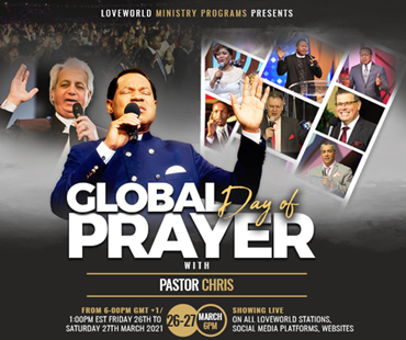 GLOBAL DAY OF PRAYER WITH PASTOR CHRIS