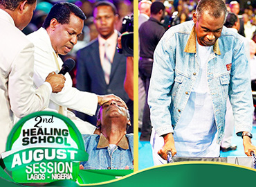 THE SECOND HEALING SERVICE OF THE HEALING SCHOOL 2018 AUGUST SESSION WITH PASTOR CHRIS
