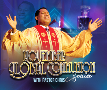 NOVEMBER 2019 GLOBAL COMMUNION SERVICE WITH PASTOR CHRIS