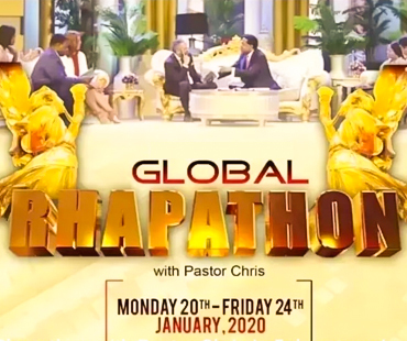 GLOBAL RHAPATHON WITH PASTOR CHRIS 2020