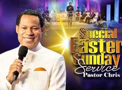 SPECIAL EASTER SUNDAY SERVICE WITH PASTOR CHRIS