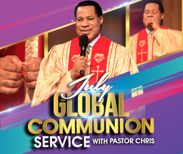 JULY 2020 GLOBAL COMMUNION WITH PASTOR CHRIS